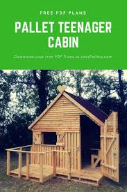 Pallet Cabin Designs Pallet Cabin Clubhouse Build Your Own 19 Pallets Teenager