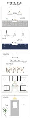 island design ideas designlens extended: studio mcgee guide to hanging lights middot mcgee guidedesign