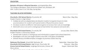 Teaching Resumes Sample Of Teaching Resume Airexpresscarrier Com