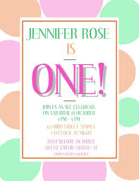 1st Birthday Party Invitation Template First Birthday Party Invitation Template Postermywall