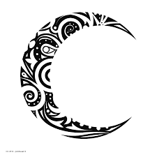 Crescent Moon Design Moon Tattoo Royalty Free Stock Png Files Free Clip Art