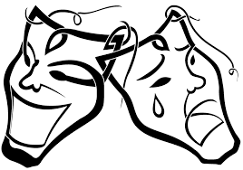 Small Picture Theater Masks Happy And Sad Coloring Coloring Pages