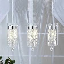 kitchen island pendant lights glass