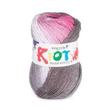 King Cole Riot Dk Knitting Yarn Wool Penguono