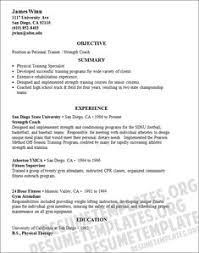 Sample Personal Trainer Resume - Wikihow | Resume Samples ...
