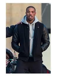 michael b jordan creed letterman jacket