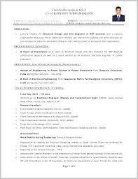 Civil Engineering Resume Example Electrical Engineer Resume Examples Interesting Sample Resume Of A Civil Engineer