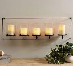 lucca wall mount multi candle holder