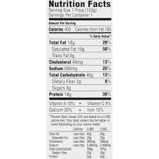 california pizza kitchen nutritional value
