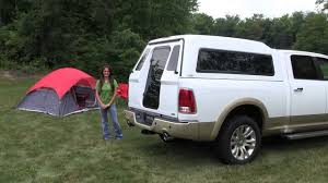 Full Walk-In Door - A.R.E. Truck Caps and Tonneau Covers - YouTube
