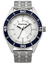 firetrap mens silver dial silver bracelet watch ft2017sm rrp £50 image is loading firetrap mens silver dial silver bracelet watch ft2017sm