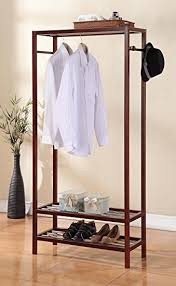 Coat Hanger And Shoe Rack Legacy Decor Wooden 100 Tier Shoe Shelves Garment Rack Coat Hanger 100 15