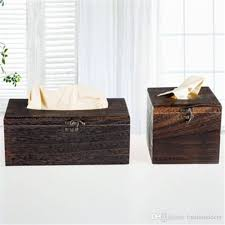 2019 vintage wooden retro tissue box cover paper napkin holder case home car decor new free shiping from fashiondecor 7 54 dhgate com