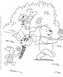 I Disegni Da Colorare Di Winnie The Pooh Per Pasqua