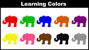colors for kids. Contemporary Kids Colors For Children  Learn With Elephant Nursery Rhyme  Kids  YouTube Throughout For S