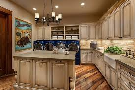 Southwestern Ranch traditional-laundry-room