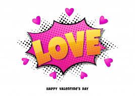 Comic <b>bubble</b> heart shape love pop art <b>retro style</b> Vector | Premium ...