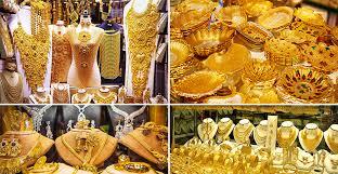 dubai gold jewelry set design