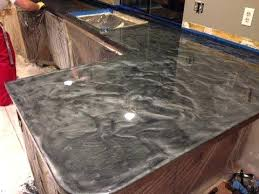 easy countertop resurfacing awesome resurfacing with metallic silver and charcoal of easy diy countertop resurfacing diy countertop