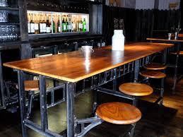 industrial restaurant furniture. Vintage Industrial Cafeteria Table Restaurant Furniture