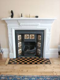 more flush tile hearths original tiles laid on a new base modern fireplace
