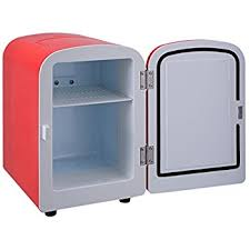 tiny refrigerator office. giantex portable mini fridge cooler and warmer auto car boat home office ac u0026 dc red tiny refrigerator r
