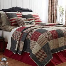 plain bedding red white blue patriotic patchwork american flag country home quilt bedding set vhcbrands colonial in sets b