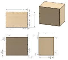 homemade diy plyometric box cad