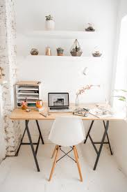 White airy home office Simple White Airy Home Office Laptop Mac Floral Diarynotebook Blossom Home Office Working From Home Faacusaco White Airy Home Office White Airy Home Office Office Desk Great
