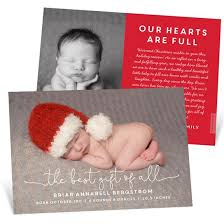 Christmas Birth Announcement Ideas Boy Birth Announcements Custom Designs From Pear Tree