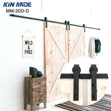 barn door closet hardware kin made double panel antique style steel sliding barn door closet hardware