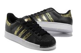 adidas shoes superstar black and gold. offer womens adidas superstar ii cobra store shoes nero spot gold best buy j25s4269 black and