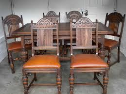 Jacobean Oak Dining Table