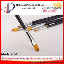 mini oil painting brushes 102 5 full sizes artists brush wood handle weasel hair