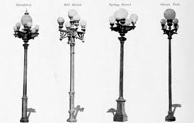 early street light electroliers
