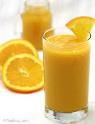 orange juice smoothie recipe with