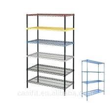 colorful shelves heavy duty 6 tiers powder coated colorful wire racking shelving shelves racks colourful corner