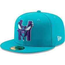 Era Charlotte Fitted Teal Hat New Men's Back 59fifty Hornets Half Team Logo Series