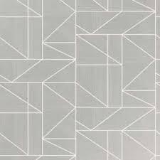 black and white wallpaper geometric pattern. Beautiful Black Alexis Geometric Silver Metallic Wallpaper Throughout Black And White Pattern B