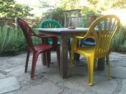 white plastic patio table and chairs. Painting Plastic Patio Set White Table And Chairs A