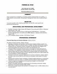 Financial Management Analyst Resume Sample Elegant Management