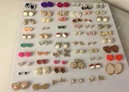 earring holder for studs