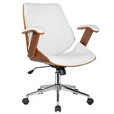 comfortable desk chair without wheels modern gray office chair