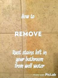 how to remove rust stains from porcelain bathtub how to remove rust stains from porcelain bathtub
