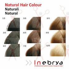 Inebrya Ice Cream Hair Dye Colours Lajoshrich Com