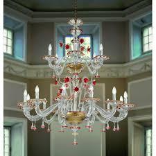 murano artistic glass chandelier 922 12 6