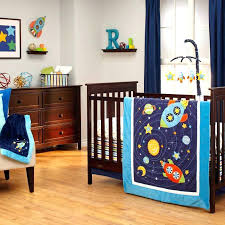 space nursery bedding themed set rocket ship crib requirements in a setting space nursery bedding themed