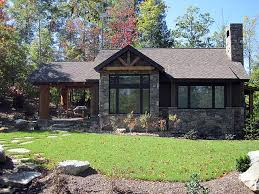 small rustic house plans. architectural designs house plan 11529kn - 681 sq. ft. vacation escape rustic-exterior small rustic plans
