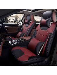 Honda Amaze Seat Cover Designs Pegasuspremium Pu Leather Car Seat Cover For Honda Amaze Cheery Black