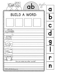 Includes differentiated support and independent sheets. Ab Word Family Worksheets Kindergarten Mom